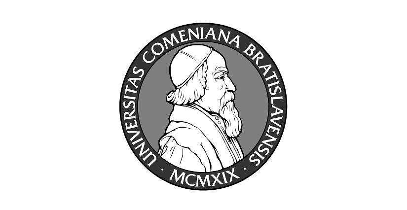 Лого Университета Коменского в Братиславе