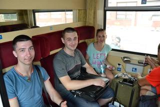 Поездка студентов в Словакию