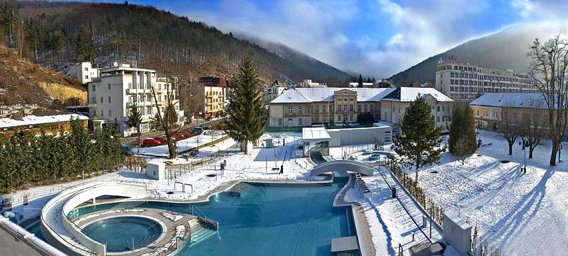 Каникулы в Словакии — лечебные термальные  курорты