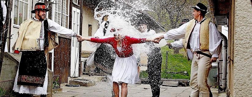 Пасхальные традиции в Словакии